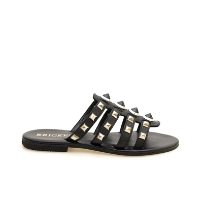 KRICKET WOMAN FLAT SANDALS WITH SILVER DETAILS 18315