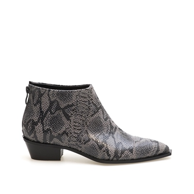 VAVOULAS WOMAN SNAKE PATTERNED BOOTIES 22